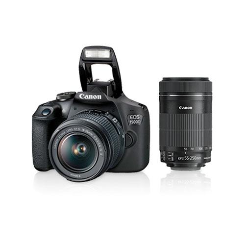 Canon EOS 1500D With EF S18 55 IS II EF S55 250 IS II Kit Mumbai India