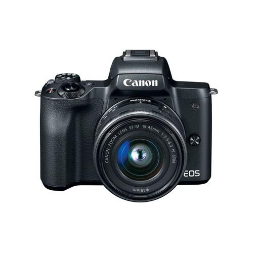 Canon EOS M50 Mirrorless Digital Camera with 15 45mm Lens Mumbai India