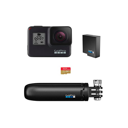 GoPro Hero 7 Black with Shorty SD Card and Rechargeable Battery Online Buy Mumbai India 01