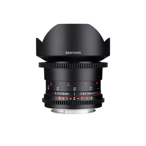 Samyang 14mm T3.1 VDSLR ED AS IF UMC II for Nikon F Mount Mumbai India