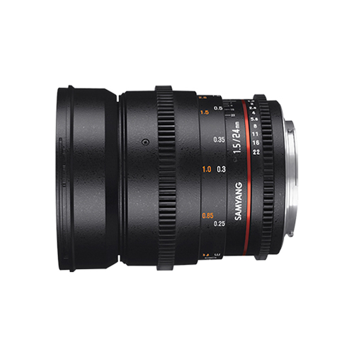 Samyang 24mm T1.5 VDSLR ED AS IF UMC II Lensfor Canon EF Mount Mumbai India 05