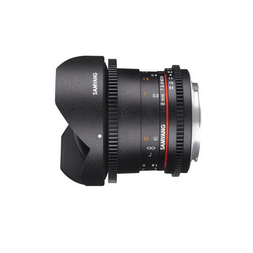 Samyang 8mm T3.8 VDSLR UMC Fish eye CS II for Sony E Mount Mumbai India 1