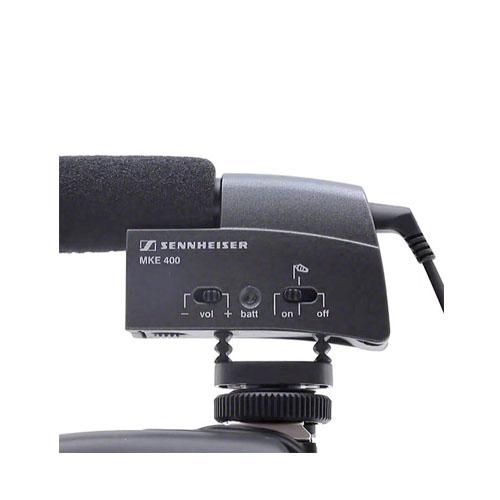 Sennheiser MKE 400 Shotgun Condenser Microphone Mumbai India 1