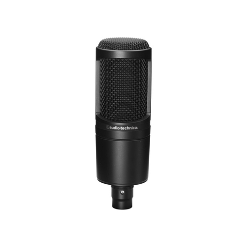 Audio Technica AT2020 Cardioid Condenser Microphone 01