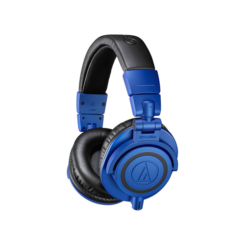 Audio Technica ATH M50x Monitor Headphones BlueBlack 01