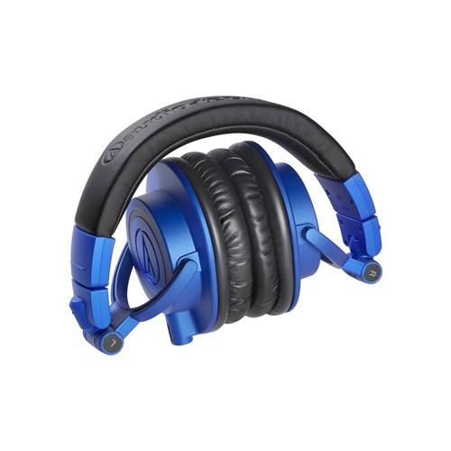 Audio Technica ATH M50x Monitor Headphones BlueBlack 03