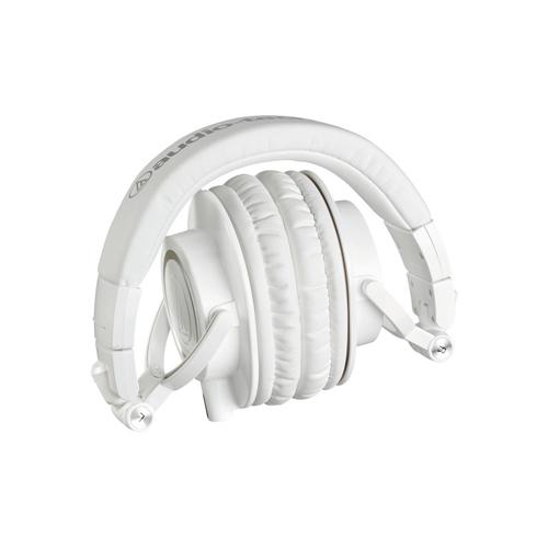 Audio Technica ATH M50x Monitor Headphones White 03