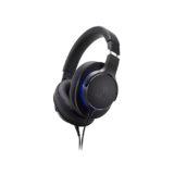 Audio Technica ATH MSR7b Over Ear Headphones Black 01