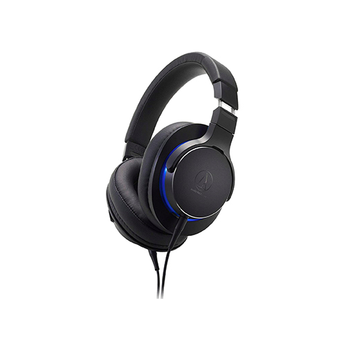 Audio Technica ATH MSR7b Over Ear Headphones Black 01