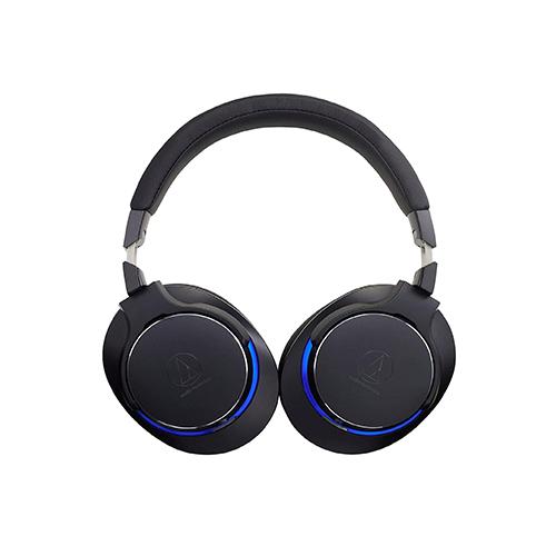 Audio Technica ATH MSR7b Over Ear Headphones Black 02