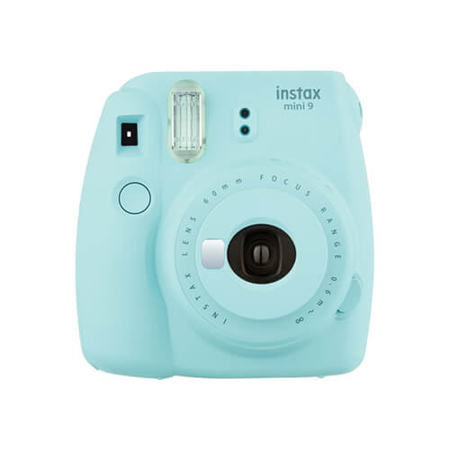 Fujifilm INSTAX Mini 9 Instant Camera Kit Ice Blue 01