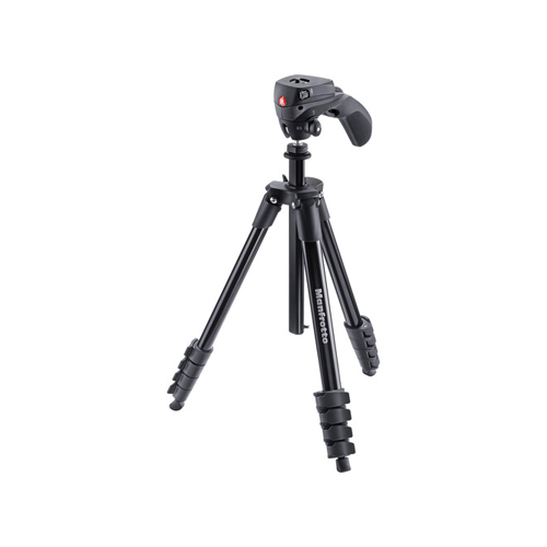 Manfrotto Compact Action Aluminum Tripod 01
