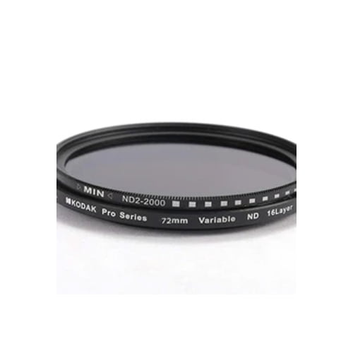 Kodak Variable 72mm ND Filter for ND2 ND2000 Online Buy Mumbai India 02