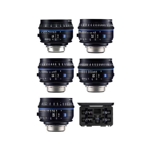 Zeiss CP.3 15 25 35 50 85mm Five Lens Kit EF Mount Feet Online Buy Mumbai India 01