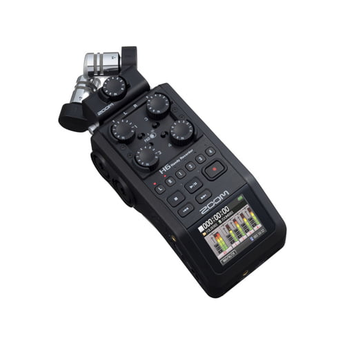 Zoom H6 All Black 6 Input Portable Handy Recorder Online Buy Mumbai India 02