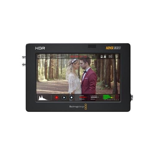 Blackmagic Design Video Assist 5 12G SDIHDMI HDR Recording Monitor Online Buy Mumbai India 01