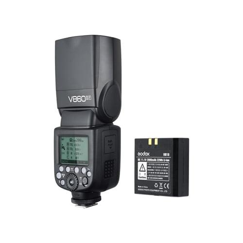 Godox VING V860IIF TTL Li Ion Flash Kit for Fujifilm Cameras Online Buy Mumbai India 01