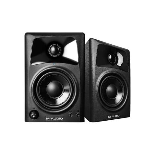 M Audio AV32 Compact Desktop Speakers for Professional Media Pair Online Buy Mumbai India 01