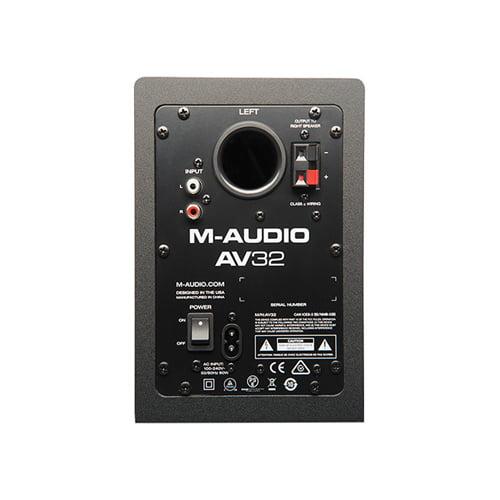 M Audio AV32 Compact Desktop Speakers for Professional Media Pair Online Buy Mumbai India 03