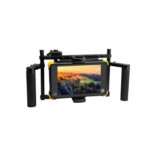 E Image Q100 Directors Monitor Cage with Rubber Handgrips Online Buy Mumbai India 03