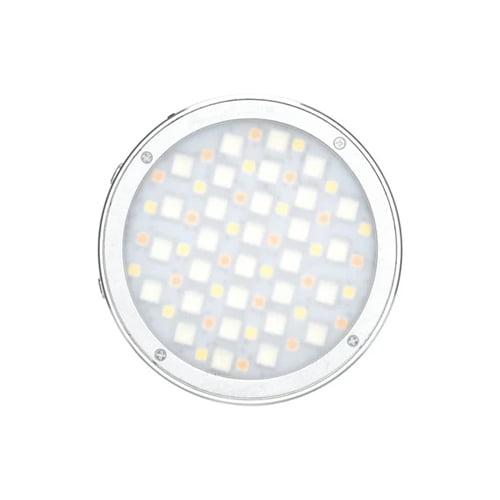 Godox R1 Round RGB Mini Creative Light Silver Online Buy Mumbai India 01