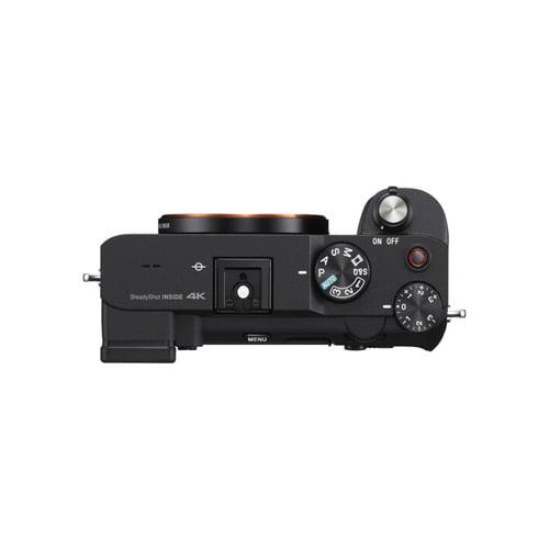 Sony Alpha a7C Mirrorless Digital Camera Body Only Black 03