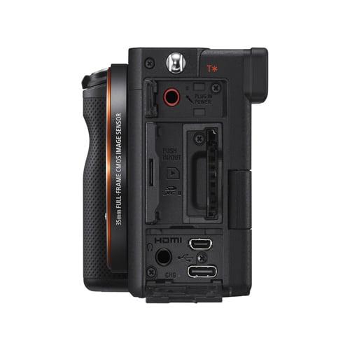 Sony Alpha a7C Mirrorless Digital Camera Body Only Black 06