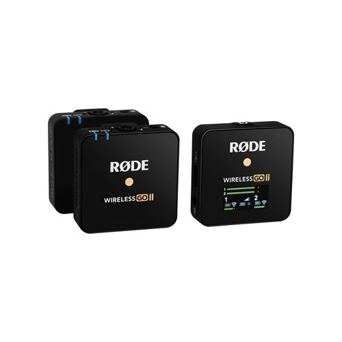 Rode Wireless GO II Dual Channel Compact Microphone Online Buy Mumbai India