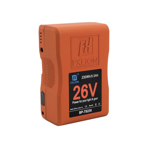 Fxlion BP 7S230 26V Lithium Ion V Mount Battery 230Wh Online Buy Mumbai India