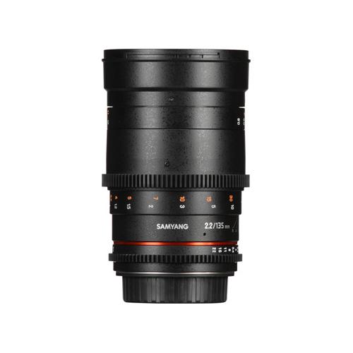 Samyang 135mm T2.2 AS UMC VDSLR II Lens for Canon Online Buy Mumbai India 2