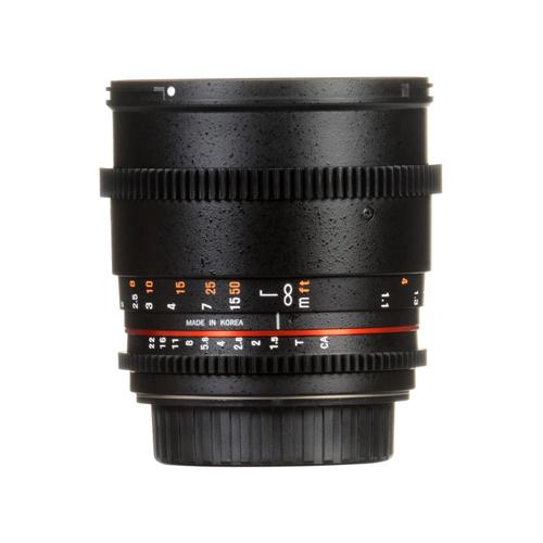 Samyang 85mm T1.5 VDSLRII Cine Lens for Canon Online Buy Mumbai India 3
